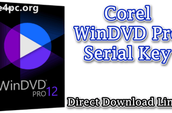 Corel WinDVD Pro Serial Key