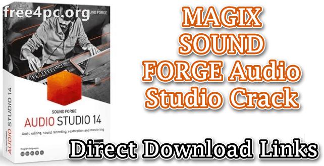 MAGIX SOUND FORGE Audio Studio Crack