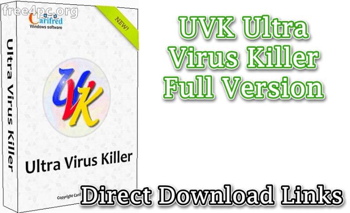 UVK Ultra Virus Killer Full Version