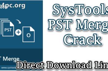 SysTools PST Merge Crack