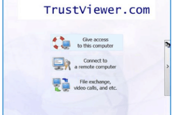 TrustViewer Full Version