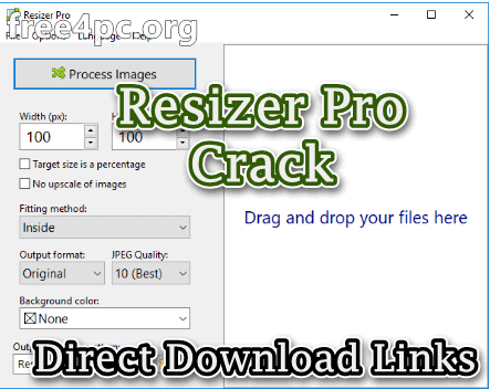 Resizer Pro 2.1 With Crack