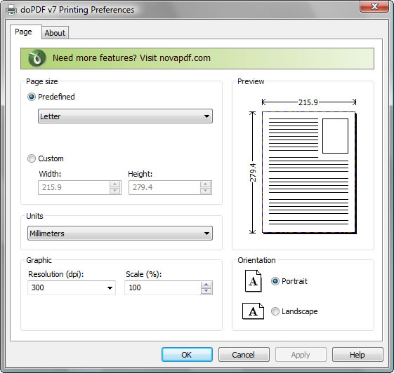 PDF轉檔工具 doPDF中文版下載