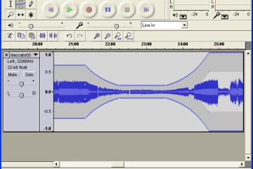 去人聲音樂編輯軟體下載 Audacity 繁體中文版