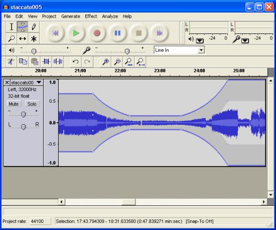 錄音軟體免費下載 Audacity 繁體中文版