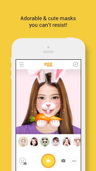 搞笑攝影app egg 艾革 – 讓你1秒變身的相機