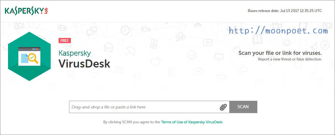 Kaspersky Virusdesk 老司機幫您線上掃毒安全上車