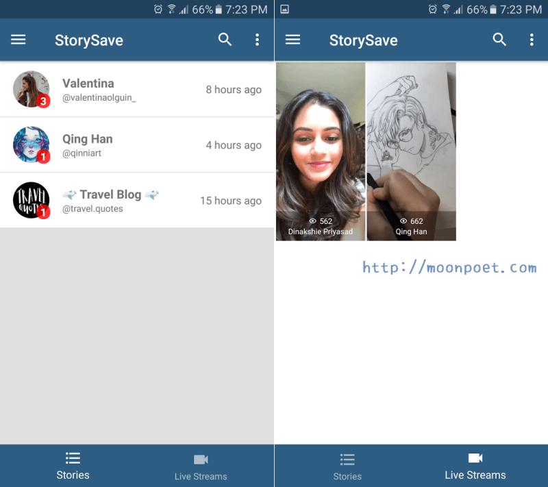 下載instagram影片 含限時動態和Live直播影片 StorySave