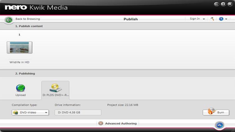 Nero 燒錄軟體中文版免費下載 Nero Kwik Burn 11.0.17100
