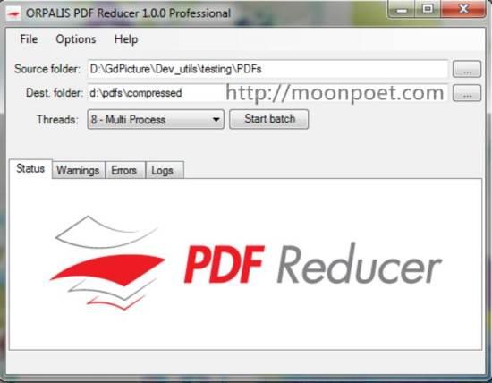 pdf壓縮工具 PDF Reducer