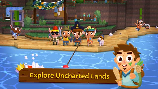 與動物之森玩法相似的農場經營遊戲 - Seabeard