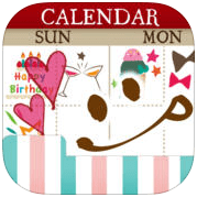 可愛月曆下載 – 女孩們的電子手帳本