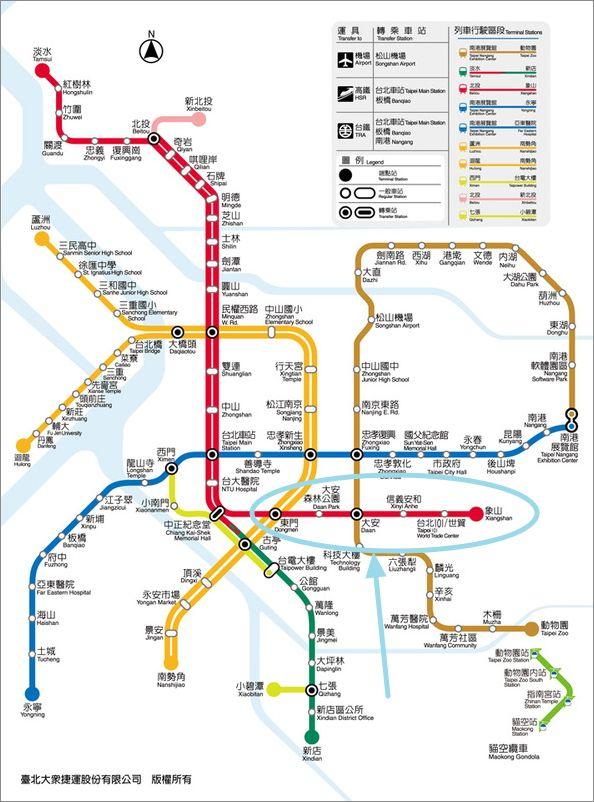 信義線捷運路線圖 何時通車