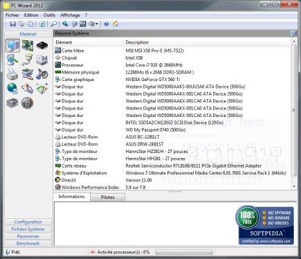電腦硬體檢測工具 PC Wizard 2013 免安裝版下載