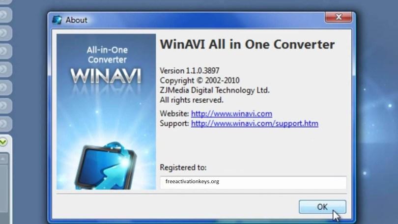 WinAVI Video Converter Crack v11.6 With Activation Key Free Download 2021 [ Latest ]