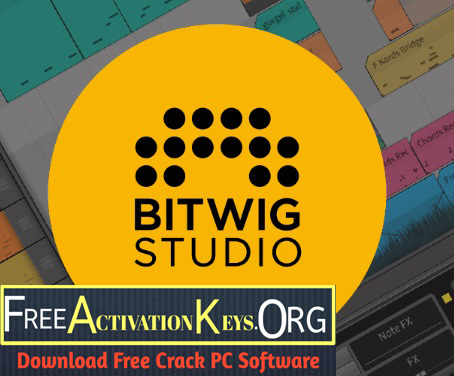 Bitwig Studio 3.3.3 Crack With Full Activation Key Free Download [ Latest ]