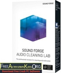 Sound Forge Audio Cleaning Lab 25.0.1.23 Crack Plus License Key Download