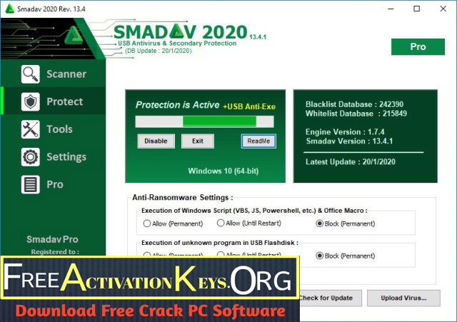 Smadav Pro Rev 14.6 Crack 2021 With Activation Key Full Download [ Latest ]