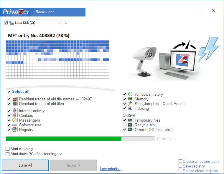 PrivaZer 4.0.19 Crack Plus Serial Key Free Download 2021 [ LATEST ]