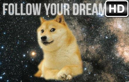Doge HD Wallpaper New Tab Themes Free Addons