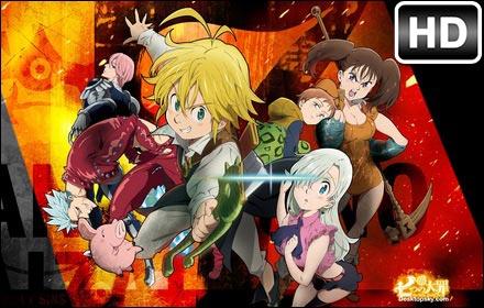 Nanatsu No Taizai Anime HD Wallpaper New Tab Free Addons