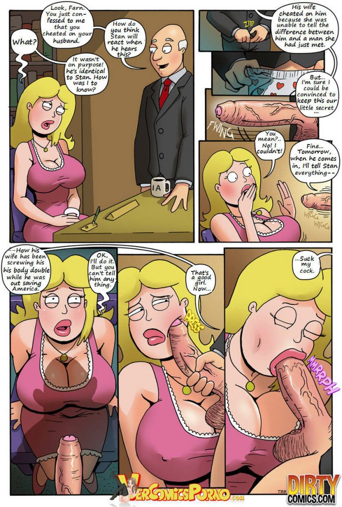 Milf anal comics porn