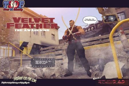 Y3DF – Velvet Feather 1