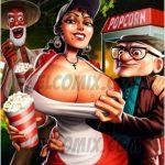 Old Geezers of Parks- Popcorn Cart – Comix