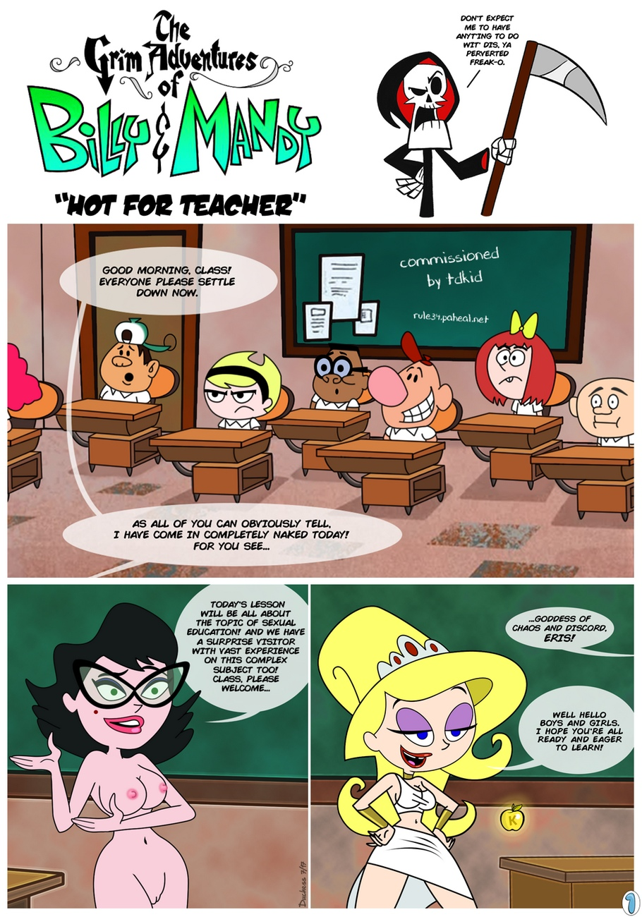 The Grim Adventures Of Billy & Mandy – Adult Comix