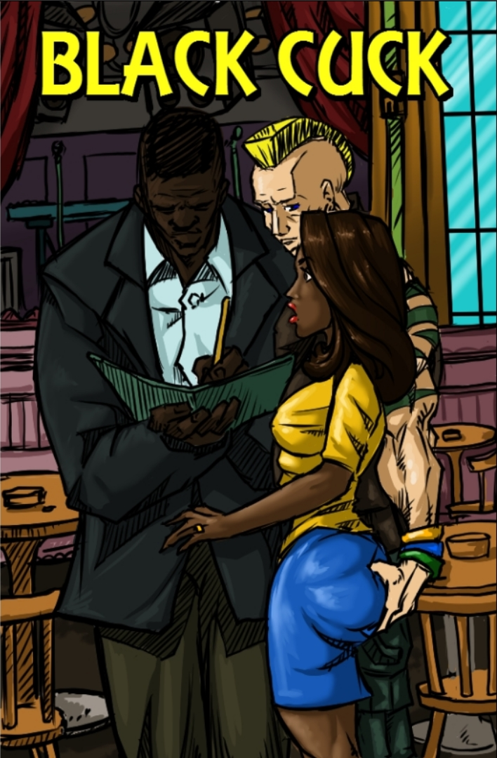 Black Cuck-illustratedinterracial
