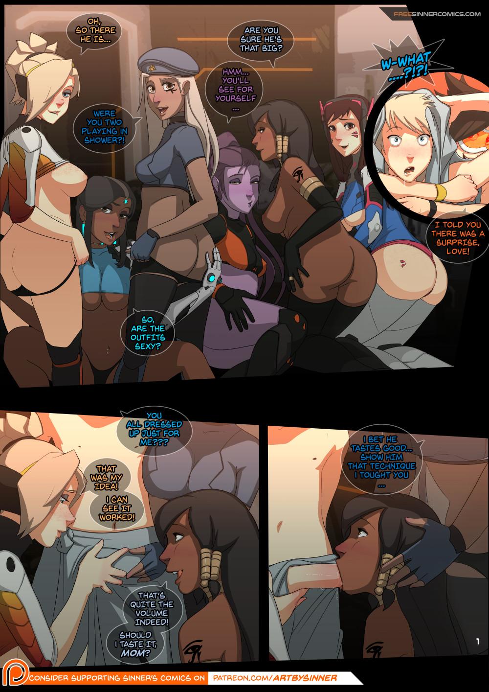 Overwatch Porn Comics