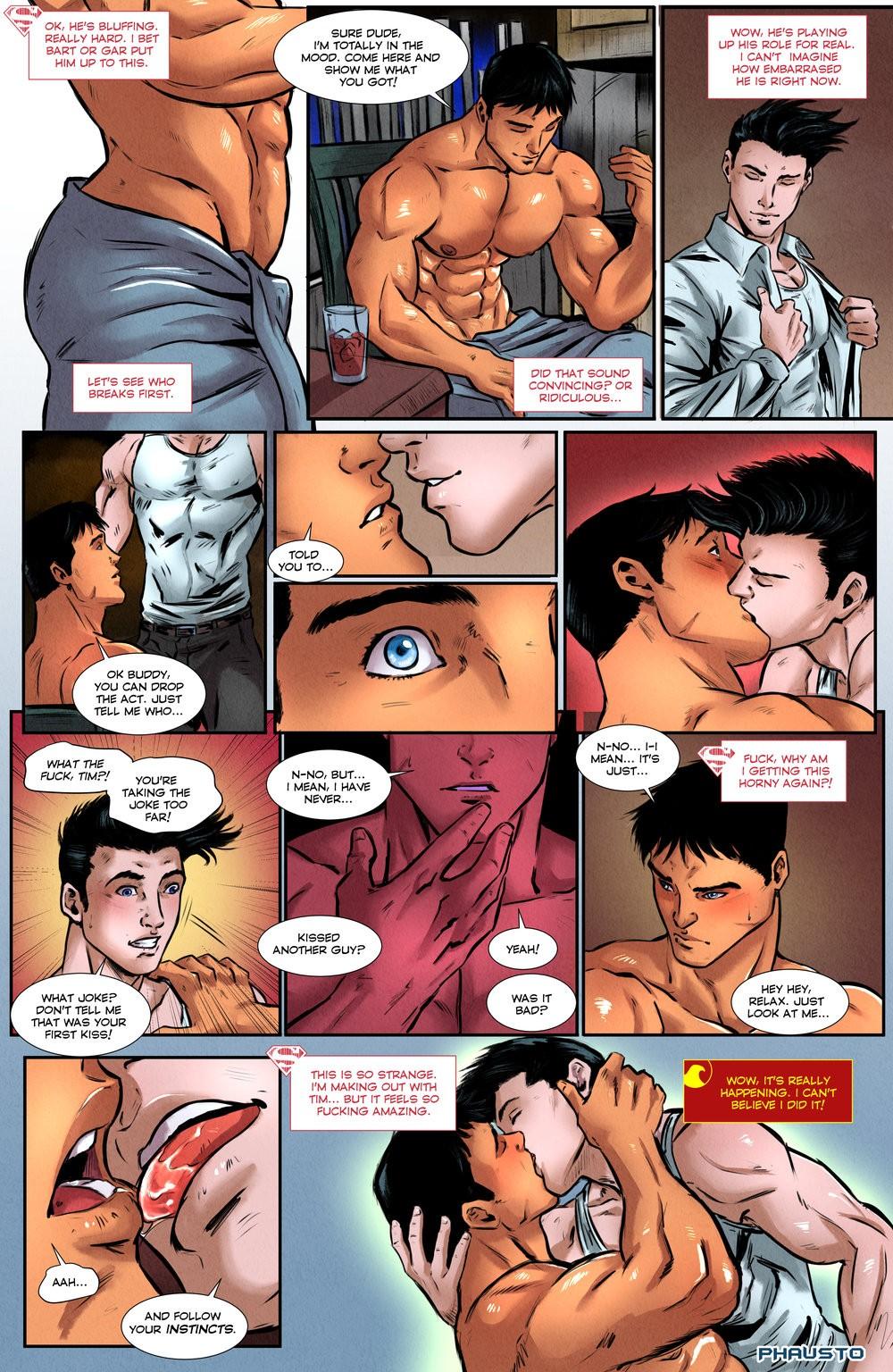 superman gay porno komiks