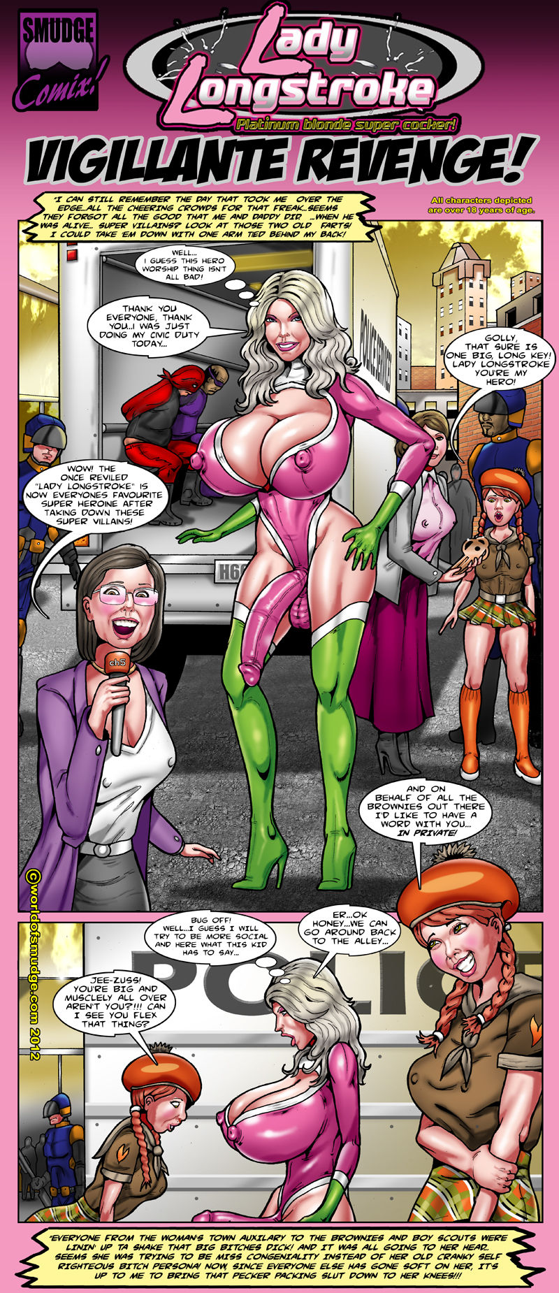 World of smudge big tit brenda free porn comix online
