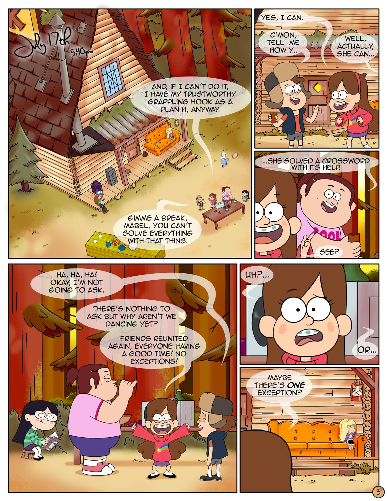A Last Summer Hentai area – next summer (gravity falls) | freeadultcomix | free