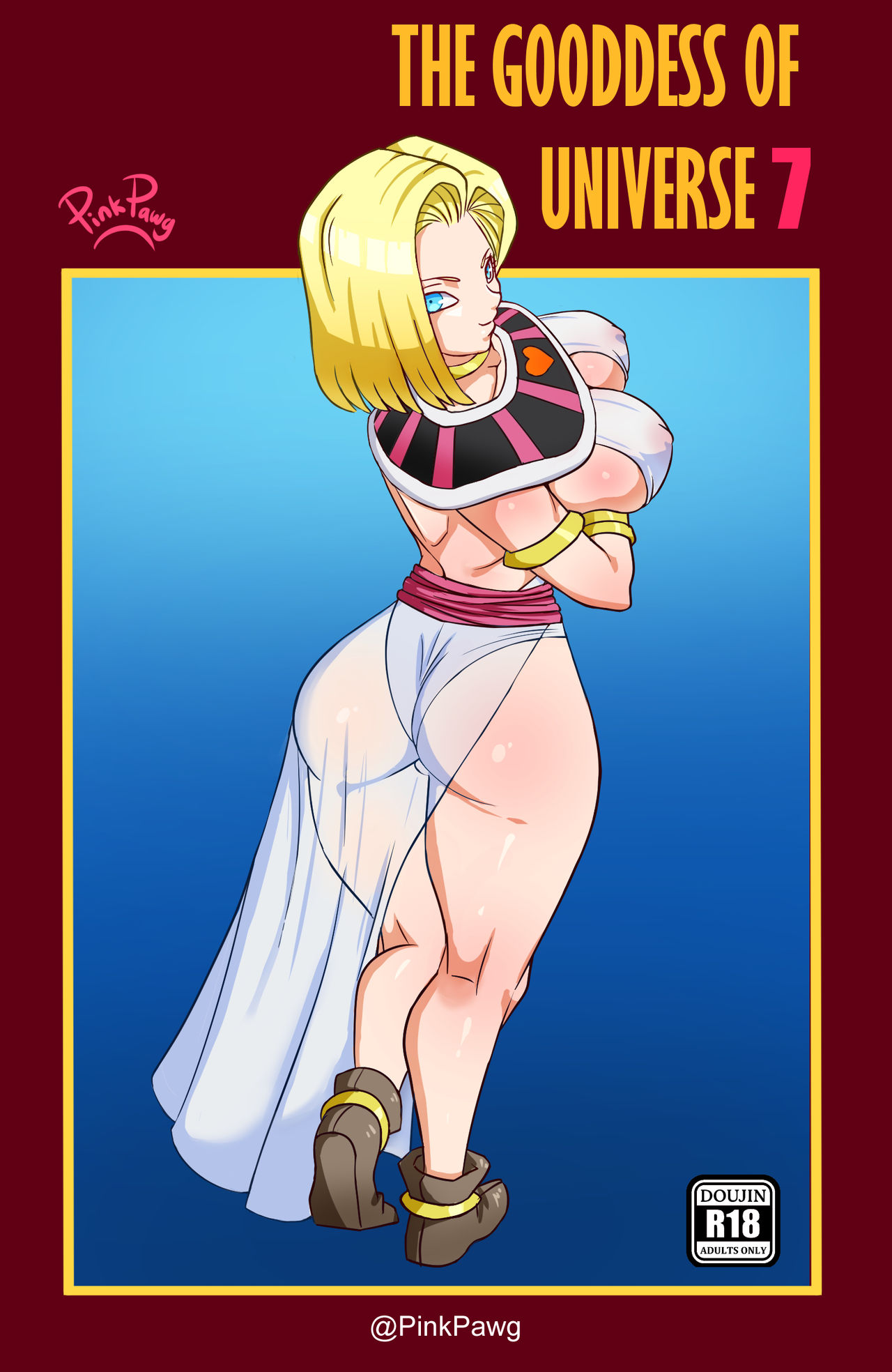 Android 18 Anime Porn Solo the goddess of universe 7 - dragon ball super [pinkpawg