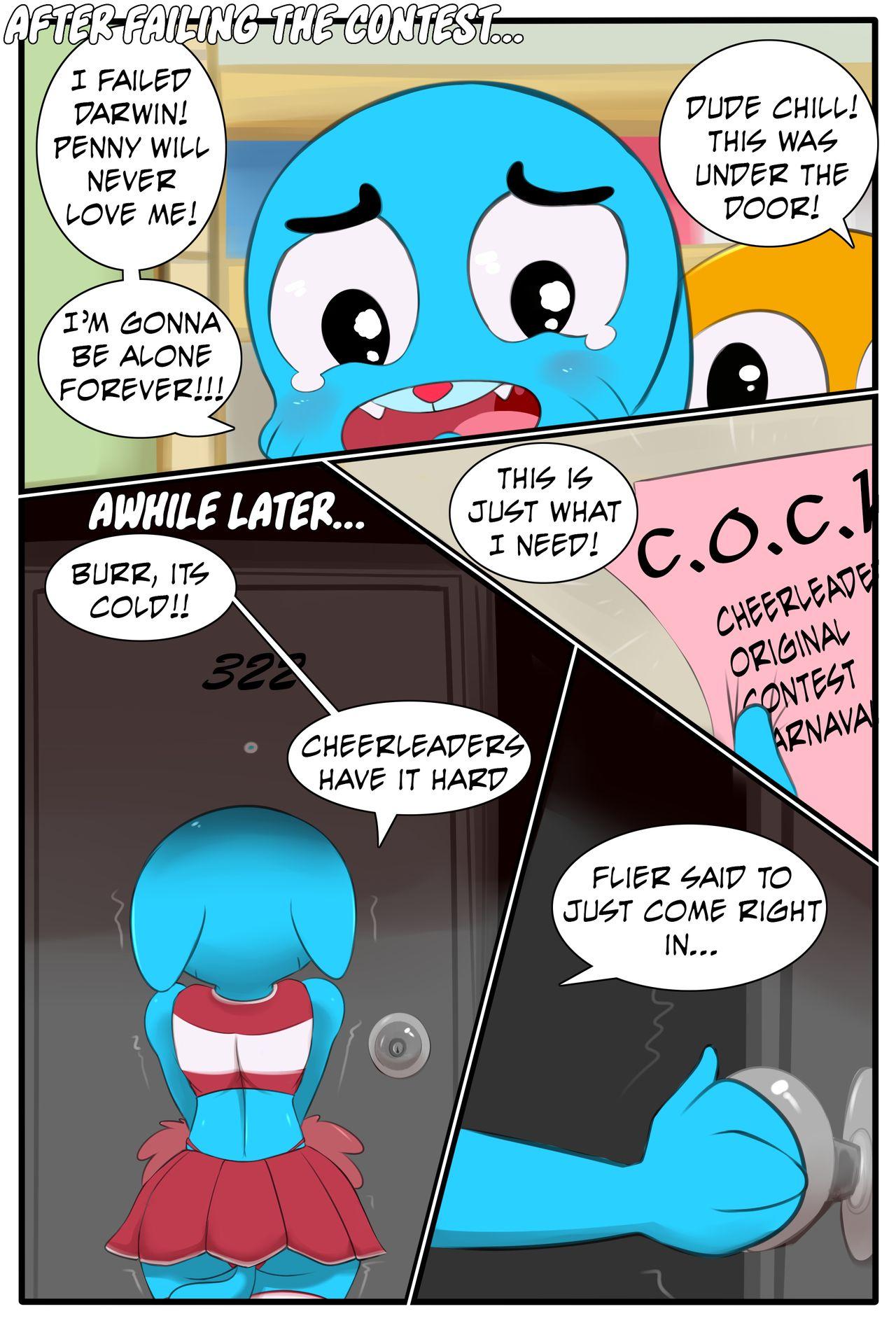 Amazing World Of Gumball Anime Porn Comic the amazing world of gumball - please! cheer me