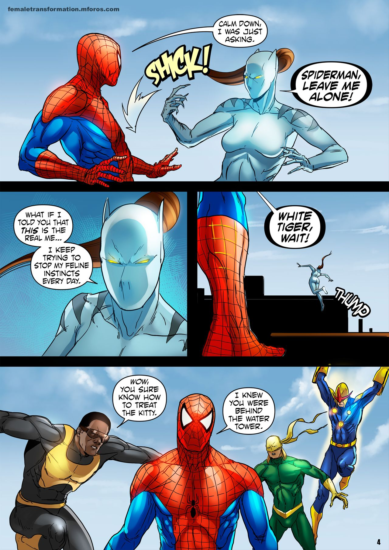 Spider-Man porno komiks