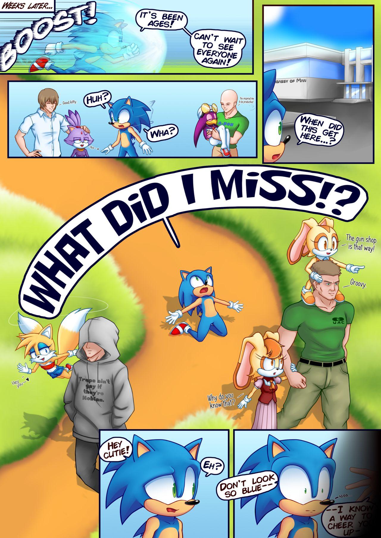 Animal Crossing Porn Comic sally in season (sonic the hedgehog) | freeadultcomix | free