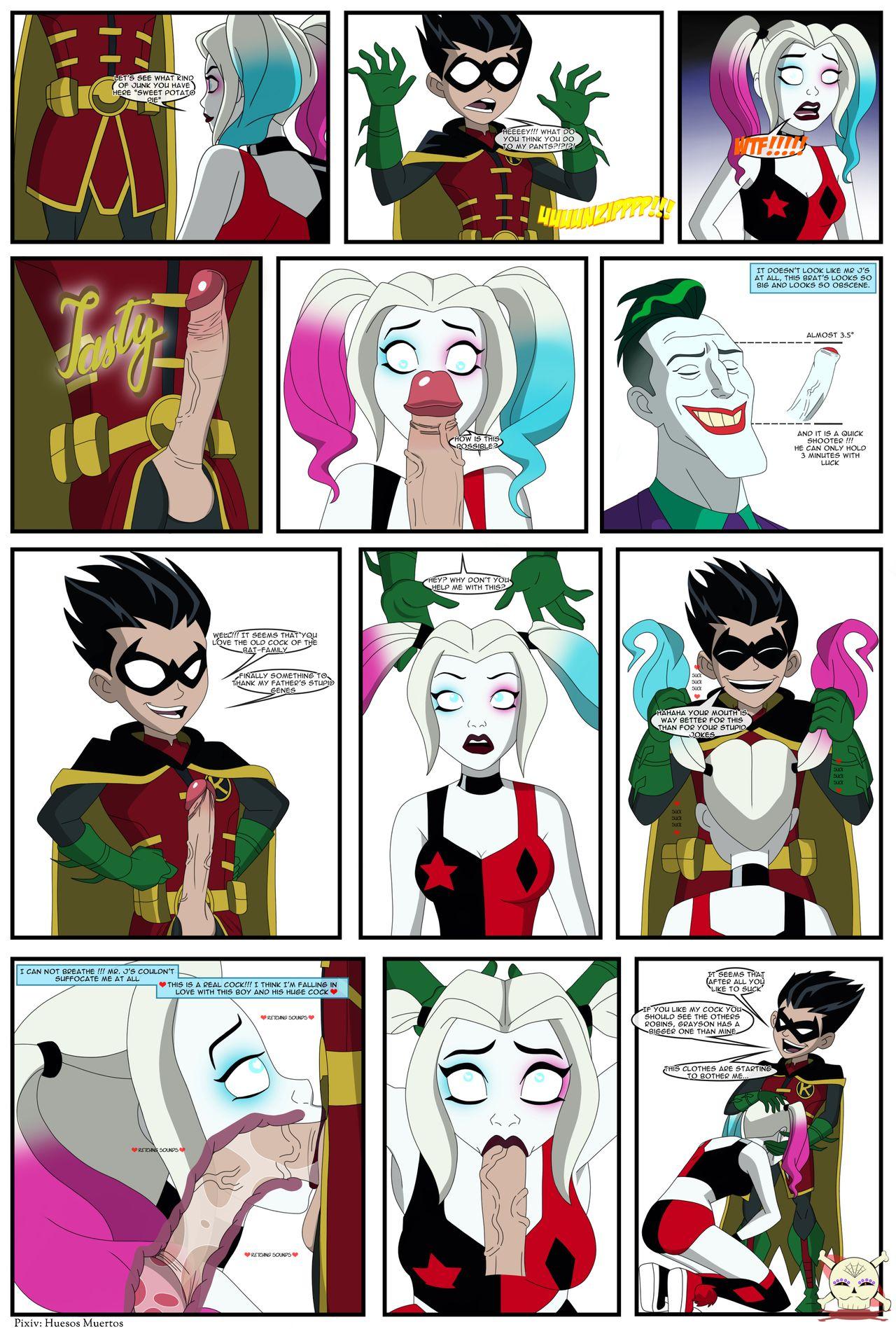 Cartoon porn quinn harley Free Harley