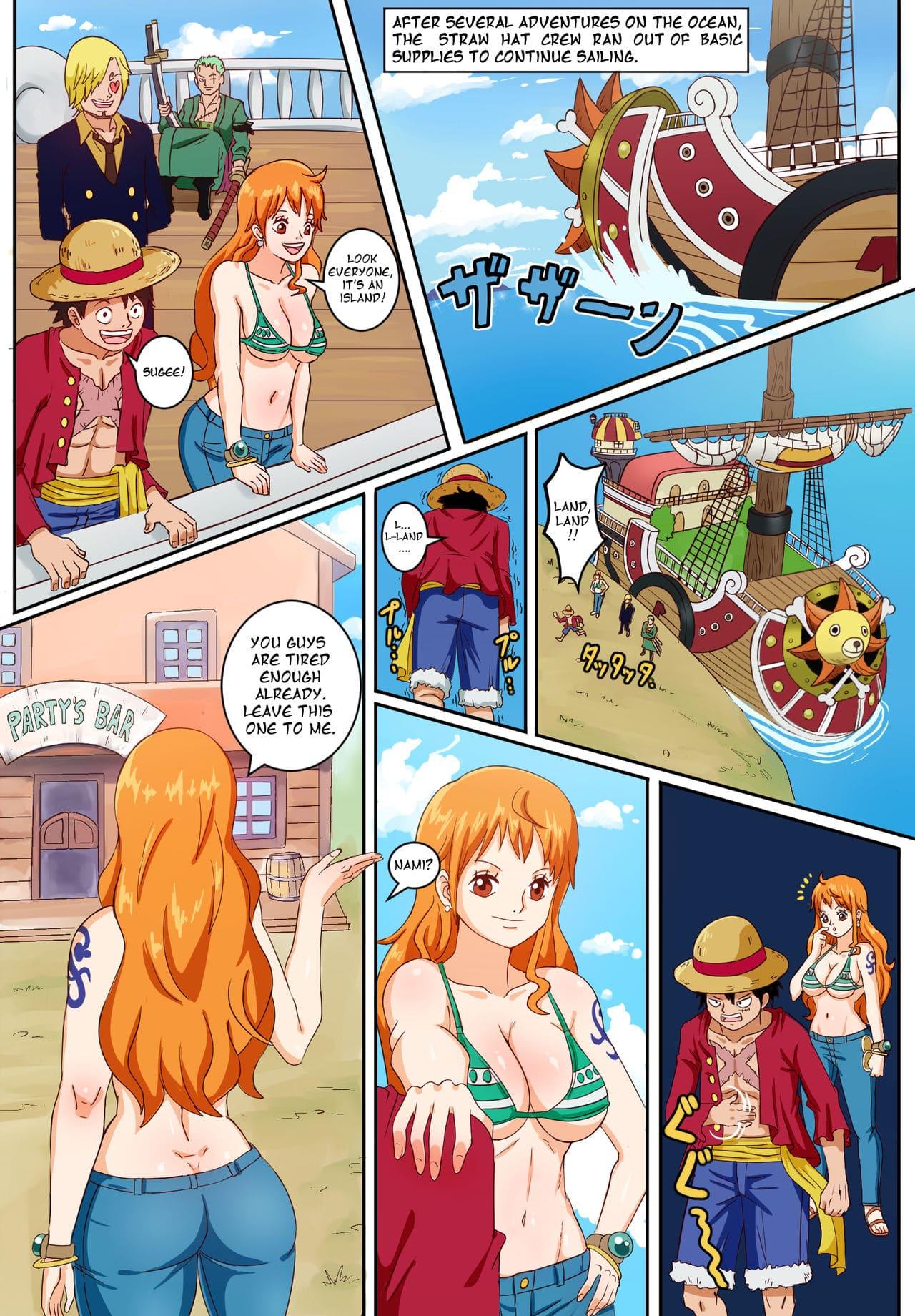 Comic one hentai piece Parody: One