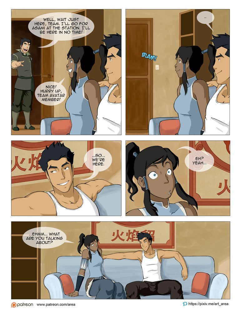 The Legend Of Korra Sex Comic