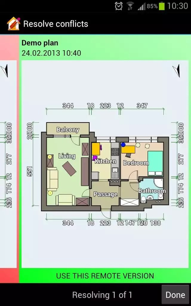 Room Layout Planner App