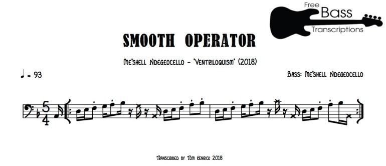 me'shell smooth operator