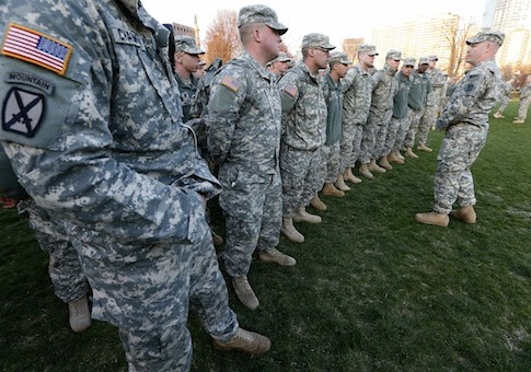 National Guard Takes Offense At Army Slight