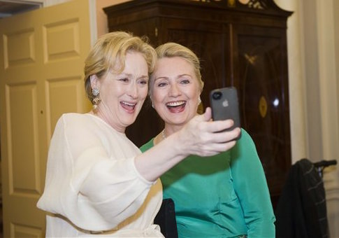 Image result for meryl streep hillary clinton