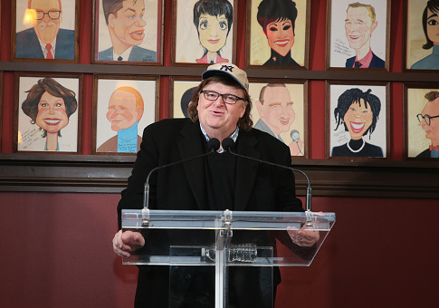 Michael Moore Brags News Broadway Show Could End Trump's Presidency