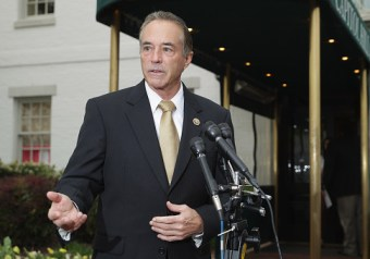 Rep. Chris Collins: 'I Will be Carrying' Handgun at Future Public Events