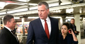 De Blasio Denied Ordering Homeless Off Subway So He Could Ride. Then a Damning Email Emerged...
