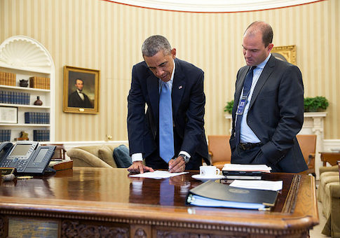 Image result for Ben Rhodes and Barack Obama