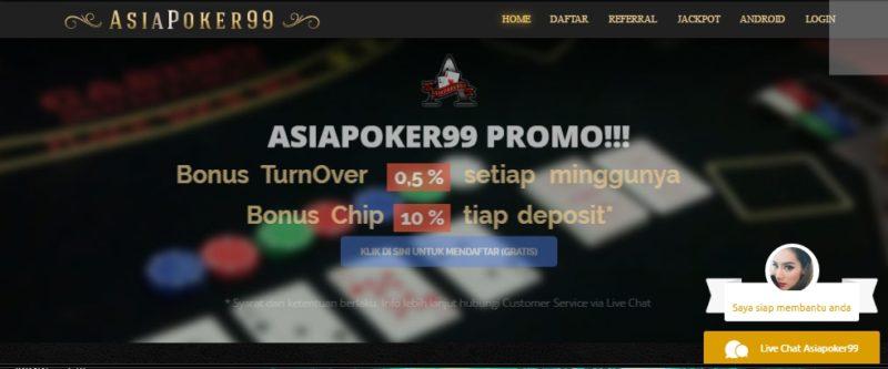 Asiapoker99 Situs Poker Online terpercaya di indonesia
